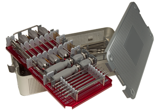 Figure 3: S100 Pedicle Screw System instrument case and trays